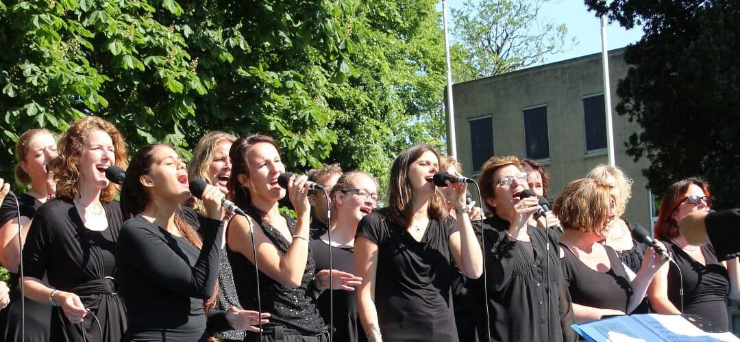 Zingend vanuit de Grote kerk